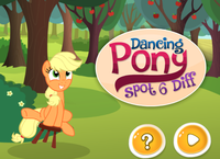 6 Differences Poney Dansant