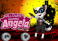 Angela Habillage Halloween