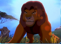Angry Simba Puzzle