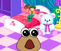 Baby Pou room decoration