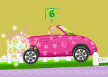 Barbie Course de Voiture