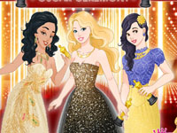 Barbie and Princesses Oscar Ceremony