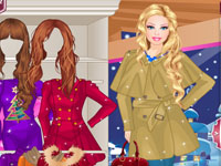 Barbie Shopping d'Hiver