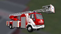 Camion Iveco - Fire Truck