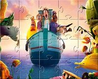Cloudy with a Chance of Meatballs 2 Spin Puzzle
