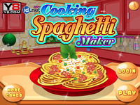 Cooking spaghetti maker
