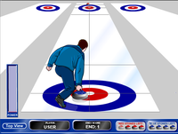 Curling sur table