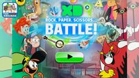 Disney xd rock paper scissors battle