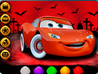 Halloween Cardesign Trial