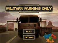 Military Parking Only