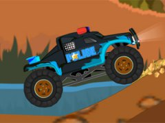 Monster truck police - Offroad Police Racing