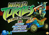 Ninja Turtles sewers race 3d