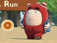 Oddbods forrest run