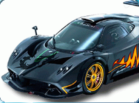 Pagani Zonda Car Coloring