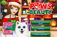Paws to beauty christmas