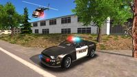 Police car offroad