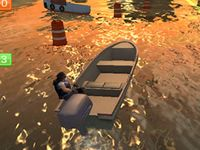 Real boat parking 3d