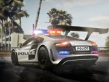 Voiture police parking - Tropical Police Parking