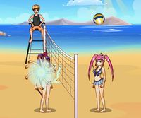 Volley ball pour fille