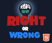 Vrai ou faux - Right Or Wrong